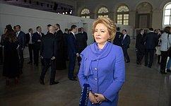 В. Матвиенко: Законодатели готовы обеспечивать правовые условия для прорывного развития России