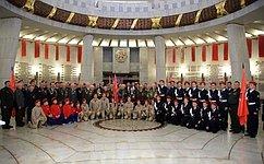 Т. Лебедева: Врегионах России появляется все больше отделений военно-патриотического движения «Юнармия»