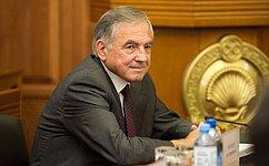 Ю. Бирюков принял участие вработе сессии Народного Хурала Республики Калмыкия