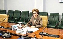 Состоялось очередное заседание Временной комиссии посохранению иразвитию народных художественных промыслов