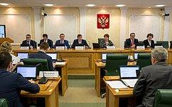 Стимулирование роста отдельных отраслей экономики напримере Удмуртии рассмотрел Комитет СФ побюджету ифинансовым рынкам