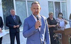 ВСаратовской области кначалу учебного года открылись две новые школы– О.Алексеев