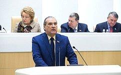 Совет Федерации поддержал изменение взакон овыборах депутатов Государственной Думы