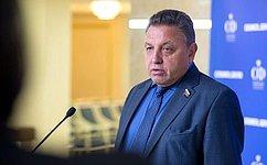 В.Тимченко: Разрабатываются дополнения взакон остатусе члена Совета Федерации идепутата Государственной Думы