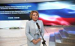 Valentina Matvienko: Thecurrent model ofRussian-Kazakh ties proves effective
