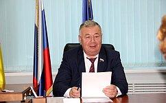 В. Николаев провел прием граждан вЧебоксарах