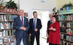 Н.Тихомиров посетил Кирилловский муниципальный район Вологодской области