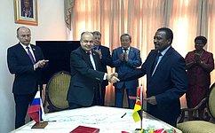 Подписан Протокол оразвитии межпарламентского сотрудничества между Советом Федерации иАссамблеей Республики Мозамбик