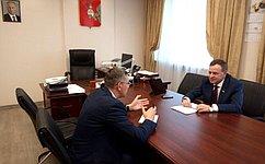 Виктор Новожилов обсудил перспективы агропромышленного комплекса Вологодчины ипринял участие вработе Парламентской ассоциации Северо-запада России