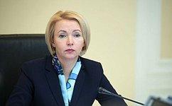 Сенаторы принимают участие вдискуссиях форума «Роль женщин вразвитии промышленных регионов» вНовокузнецке