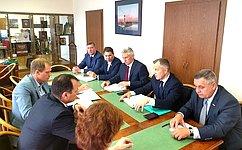 ВСовете Федерации прошло совещание пореализации вКарелии федеральных национальных проектов