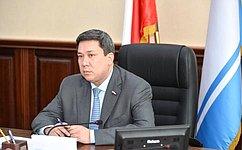 В.Полетаев встретился соспикером парламента Республики Алтай В.Тюлентиным
