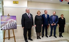 ВСовете Федерации открылась выставка репродукций работ победителей Молодежного историко-культурного фестиваля