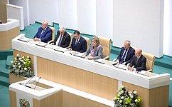 Внашей стране создана устойчивая система органов представительной власти всех уровней– ПредседательСФ