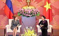 Г.Карелова: Отношения России иВьетнама развиваются вдухе всеобъемлющего стратегического партнерства