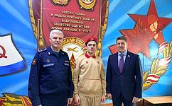 А. Шевченко посетил мероприятия Всероссийского месячника оборонно-массовой работы вОренбурге