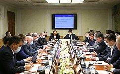 А. Кутепов провел заседание Комитета СФ поэкономической политике