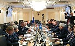 Сенаторы встретились сгруппой международных наблюдателей отМПА СНГ навыборах депутатов Государственной Думы