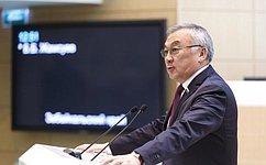 Б. Жамсуев: Референдум вКиргизии прошел открыто, свободно идемократично