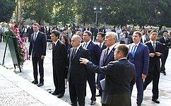 Делегация Совета Федерации воглаве сИ. Умахановым посетила Китайскую Народную Республику