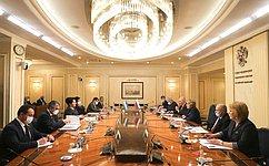 УРоссии иУзбекистана проверенные временем отношения– В.Матвиенко