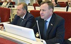 В. Новожилов: очень радует, что регион наращивает свой экономический потенциал