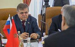 В. Джабаров: Развитие межпарламентских связей будет способствовать дальнейшему укреплению российско-марокканского сотрудничества