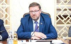 К. Косачев: Россия иЕгипет поддерживают отношения дружбы ивзаимовыгодного сотрудничества