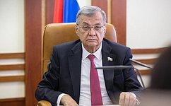 С. Жиряков: Профильный Комитет Совета Федерации продолжает активную работу всфере экологии иприродопользования