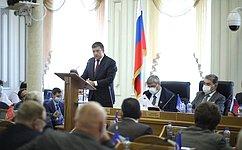 Н. Журавлев принял участие взаседании Костромской областной Думы