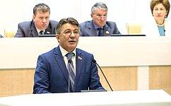 Сенаторы одобрили федеральные законы, касающиеся войск национальной гвардии России