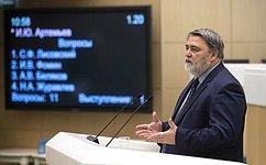 И. Артемьев представил Совету Федерации доклад ореализации Национального плана развития конкуренции вРФ на2018–2020годы