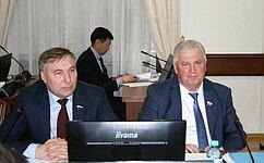 В.Наговицын: ВАдминистрации Республики Бурятия обсудили подготовку кДням региона вСовете Федерации
