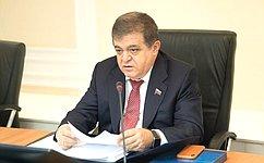 В. Джабаров: Армянские парламентарии выражают заинтересованность вовзаимодействии сроссийскими коллегами