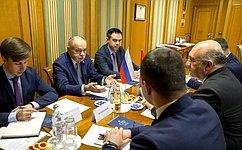 И. Умаханов: Мы удовлетворены интенсивностью исодержанием межпарламентских контактов стурецкими коллегами