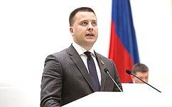 Сенатор Александр Пронюшкин представил отчет оработе за2020год