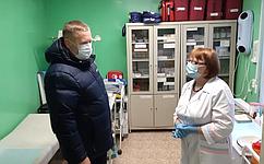 Д. Гусев помог сельским жителям получить стоматологическую помощь