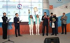 Ю.Воробьев наградил победителей конкурса водительского мастерства «АвтоЛеди»