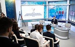 К. Косачев провел встречу сделегацией Стэнфордского российско-американского форума