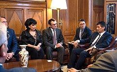 Мы ценим взвешенную исправедливую позицию Уругвая поситуации вУкраине иСирии— Н.Федоров