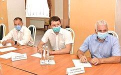 Сенатор РФ Сергей Мартынов иГлава Марий Эл Александр Евстифеев осмотрели ряд строящихся объектов врегионе