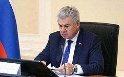 Сенаторы приняли участие взаседаниях постоянных комиссий Парламентской Ассамблеи ОДКБ