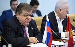Российско–киргизские отношения развиваются динамично надвустороннем уровне ивмногосторонних форматах— В.Джабаров