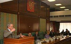 Председатель Комиссии СФ поинформационной политике провела заседание «круглого стола» сглавными редакторами региональных СМИ
