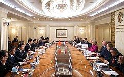 Российско-китайские отношения вышли набеспрецедентно высокий уровень— В.Матвиенко