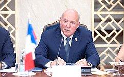Д. Мезенцев принял участие вМеждународном форуме «Евразийская неделя 2018» вЕреване