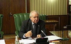 В. Федоров принял участие вобсуждении проблем обеспечения безопасности при перевозке пассажиров игрузов