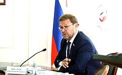 К. Косачев принял участие всовещании повопросам возобновления воздушного пассажирского сообщения изЙошкар-Олы