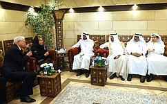 Совет Федерации будет содействовать снятию барьеров для развития бизнес-контактов между Россией иСаудовской Аравией— В.Матвиенко