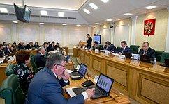 Сбалансированность бюджетов регионов напримере Мурманской области обсудил Комитет СФ побюджету ифинансовым рынкам